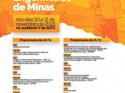 Acontece em novembro o V Congresso Catarinense de Engenheiros de Minas