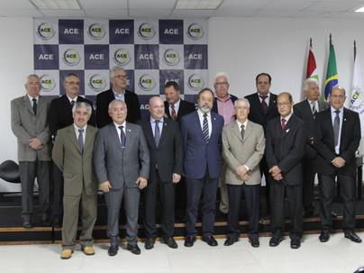 Posse Diretoria ACE- gestão 2017-2020
