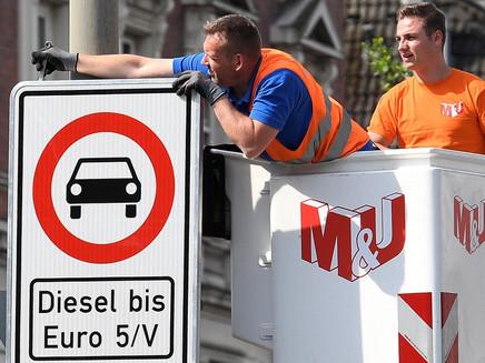 Hamburgo será a primeira cidade alemã a proibir veículos a diesel