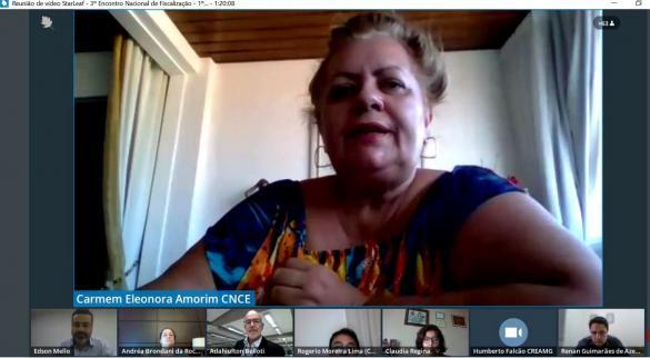 Coordenadora Nacional das Comissões de Ética dos Creas, Carmem Eleonora Amorim