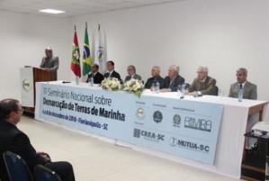 ACE promove 1º Seminário Nacional sobre Demarcação de Terrenos de Marinha