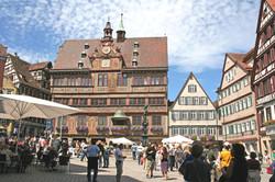 Marktplatz 2 Foto Herbert Schmid c Verkehrsverein Tuebingen