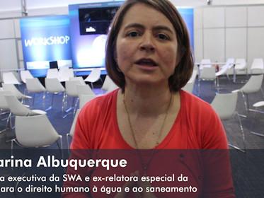 ENTREVISTA com Catarina Albuquerque, diretora executiva da SWA e ex-relatora especial da ONU para o