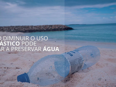 Como diminuir o uso de plástico pode ajudar a preservar água