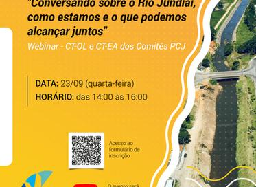 Webinar discute passado, presente e futuro do Rio Jundiaí