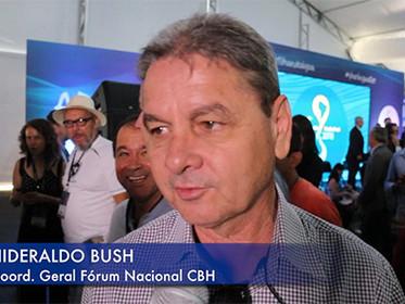 ENTREVISTA com Hideraldo Buch, Coordenador do Fórum Mineiro de Comitês de Bacias Hidrográficas, para