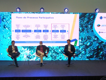 Flávio Hadler e Wilson Melo apresentam painel sobre o Plano Nacional de Recursos Hídricos no ENCOB