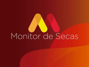 Monitor de Secas aponta redução das áreas com seca em função das chuvas acima da média