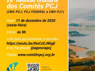 É hoje! Comitês PCJ apreciam Relatório de Situação dos Recursos Hídricos na região.