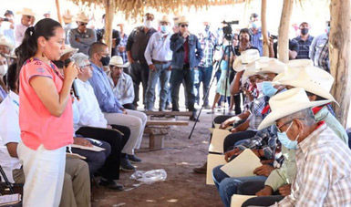 Acuerdan construcción de acueducto que provea agua potable a las ocho comunidades tradicionales