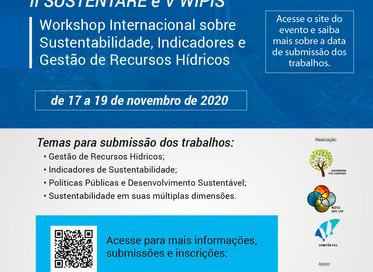 Seminário e Workshop abordam Sustentabilidade, Indicadores e Gestão de Recursos Hídricos