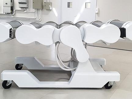 Leito robótico desenvolvido p/ Senai PR pode reduzir complicações de saúde em pacientes de intensiva