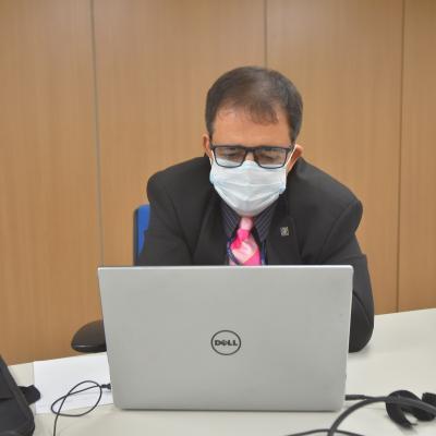 Coordenador do Contecc, conselheiro federal, prof. e eng. eletric. Jorge Luiz Bitencourt da Rocha