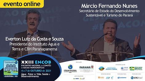 Everton Souza e Márcio Nunes