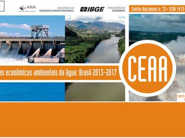 ANA e IBGE atualizam levantamento que aponta o papel da água na economia brasileira