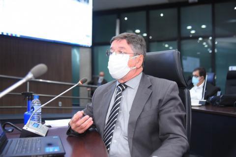Coordenador da CCSS, eng. civ. Gilson Queiroz