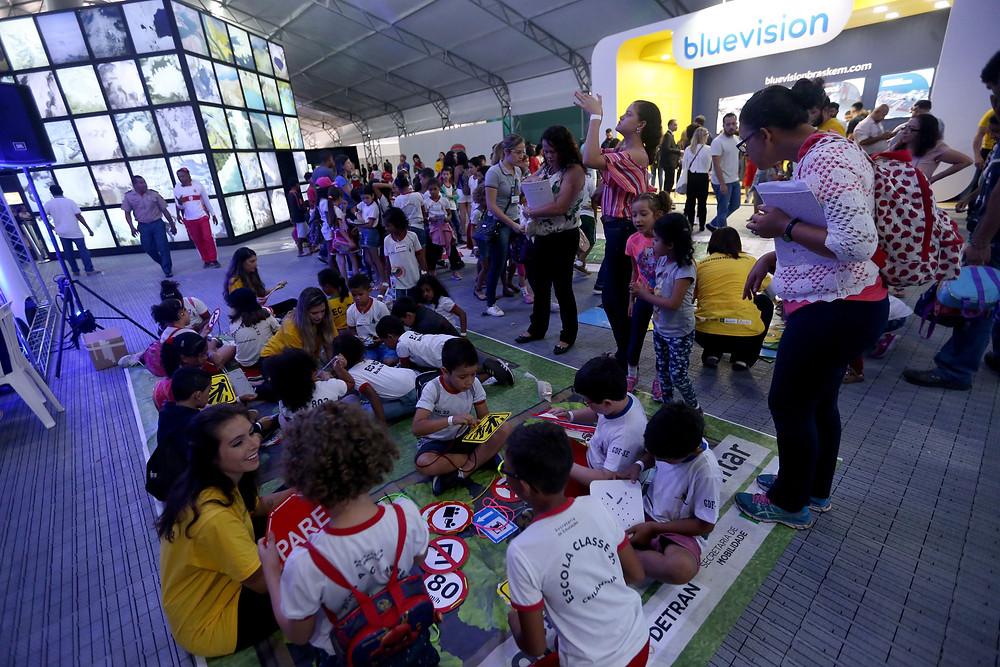 A Vila Cidadã é uma das inovações da edição brasileira do Fórum Mundial da Água