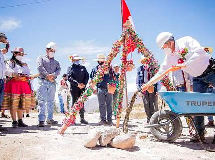 Comienza instalación de agua y desagüe en Chila Chila - Andaray