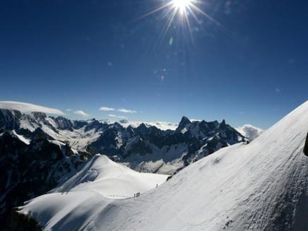 Gelo do Mont Blanc: uma mina de informações sobre o clima