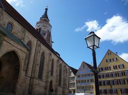 Stiftskirche Holzmarkt 3 Foto Barbara Honner c Verkehrsverein Tuebingen