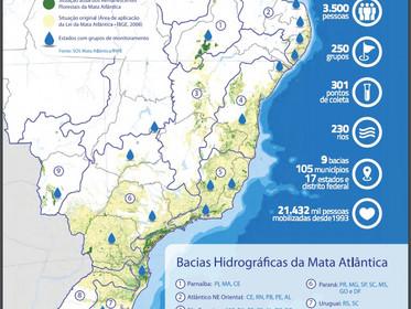 Relatório da Fundação SOS Mata Atlântica sobre a qualidade da água foi divulgado durante o 8º Fórum