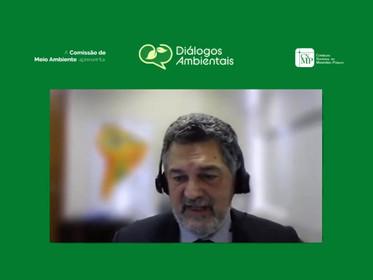 ANA debate marco legal do saneamento nos Diálogos Ambientais do CNMP