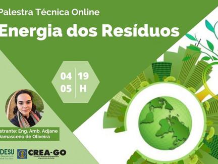 Codesu promove evento sobre Energia dos Resíduos