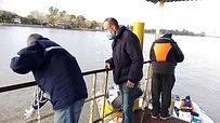 Ambiente realizó la campaña de otoño 2021 de la RIIGLO en el Río de la Plata