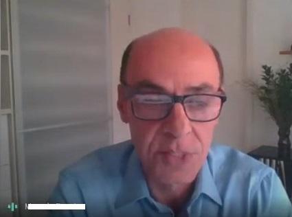 Presidente da Apeop, eng. civ. Carlos Eduardo Lima Jorge