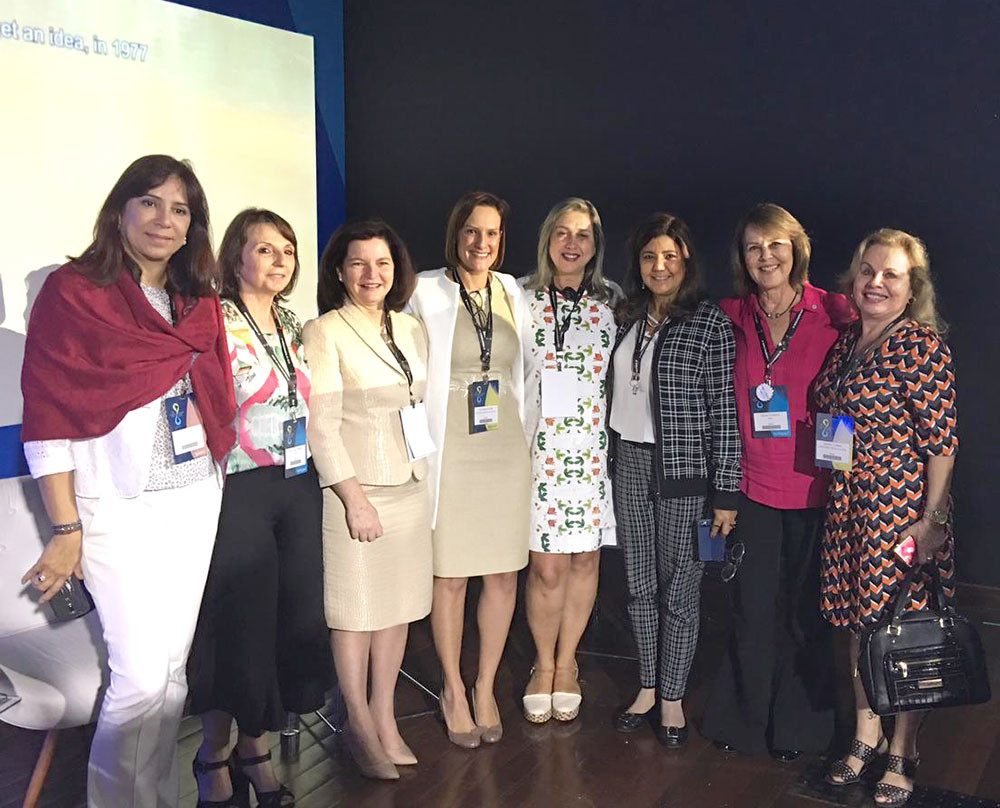 Raquel Dodge, Procuradora-Geral da República e Cristiane Dias, Presidente da ANA, participam de sessão do Processo Cidadão: Mulheres desafios e perspectivas.
