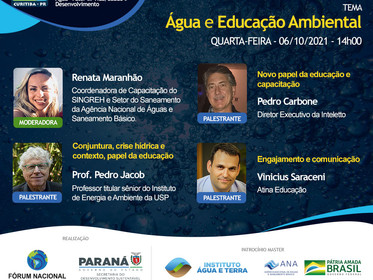 Roda de Diálogos - Água e Educação Ambiental  do XXIII ENCOB