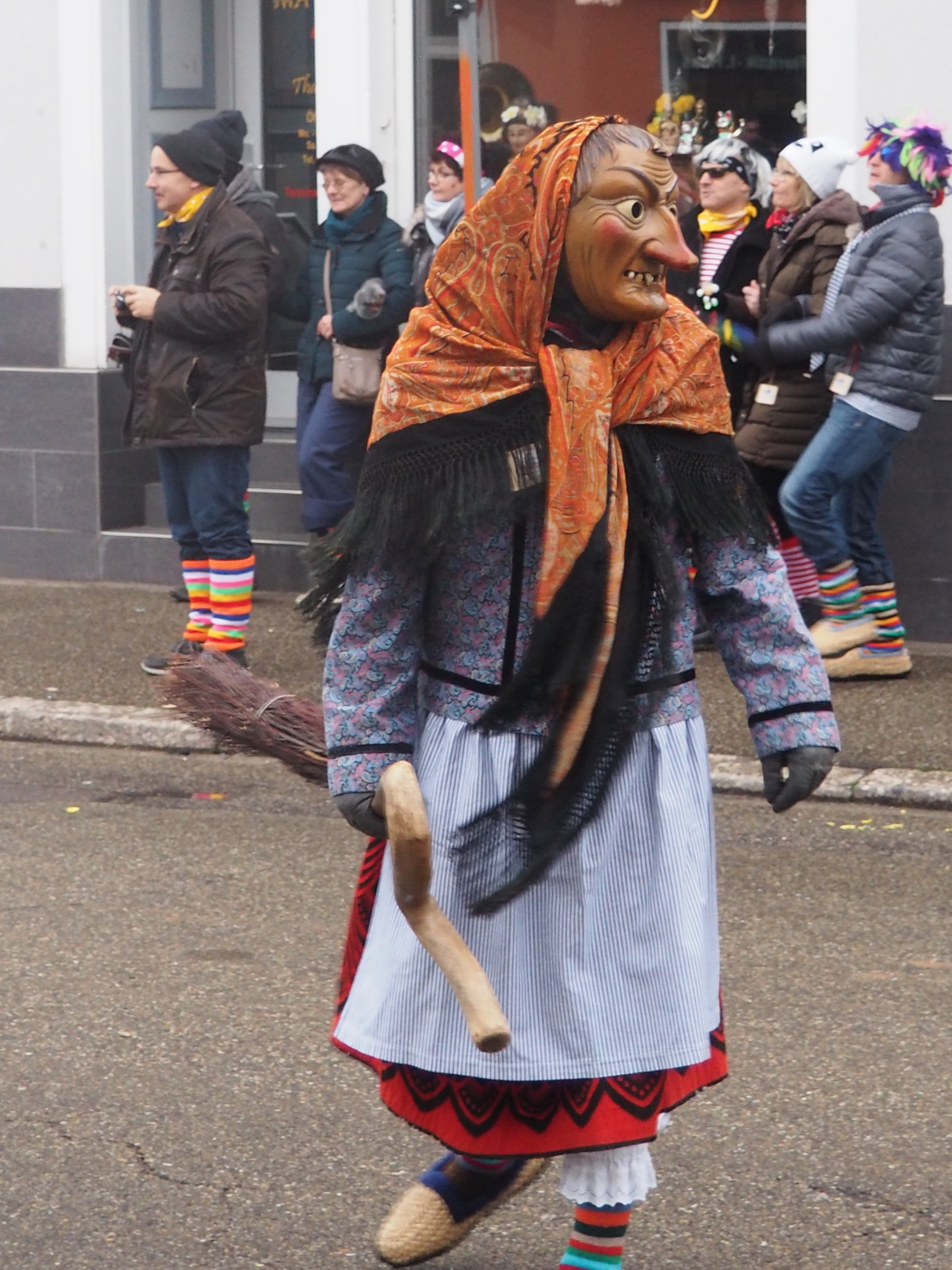 Hexe Gengenbach fasend Carnival