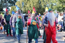 ゾマータークツークのパレード