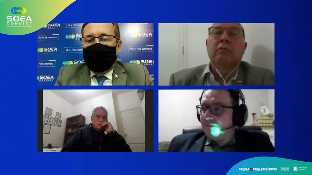 Participantes do debate sobre as Estratégias do Estado brasileiro