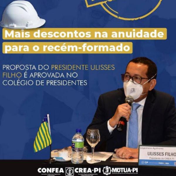 Presidente do Crea-PI, Ulisses Filho