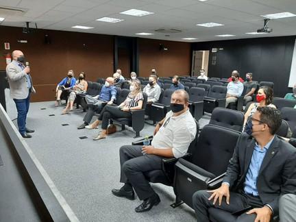 Presidente Carlos Alberto Kita Xavier inicia trabalhos da gestão 2021/2023 no CREA-SC