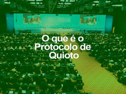 O que é o Protocolo de Quioto
