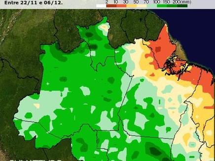 Manaus registra maior chuva/24h desde 2014