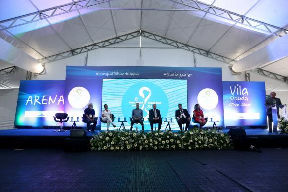 A cerimônia de abertura marca o início das atividade na Vila Cidadã