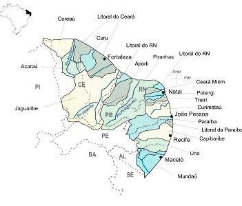 Região Hidrográfica Atlântico Nordeste Oriental