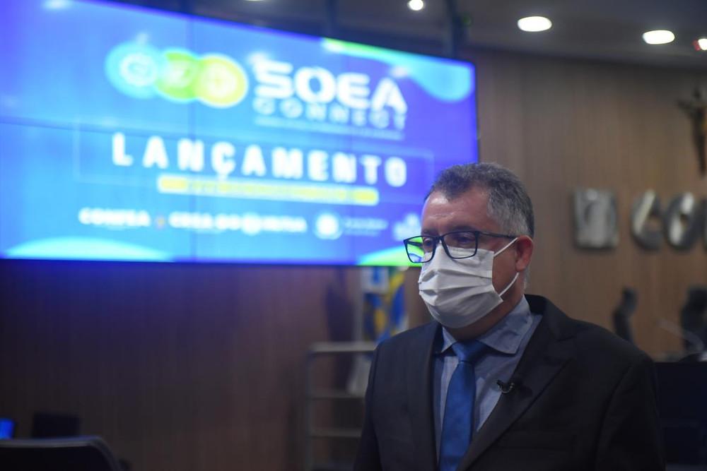 Conselheiro federal eng. eletric. Daniel de Oliveira Sobrinho
