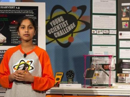 A cientista de 13 anos que descobriu como criar energia limpa por apenas R$ 16