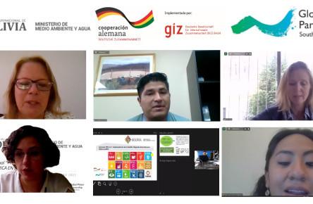 """Encuentro Nacional: """"Plan Nacional de Cuencas-ODS 6.5.1, HACÍA LA SEGURIDAD HÍDRICA EN BOLIVIA"""""""