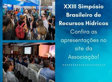 As apresentações do XXIII SBRH estão disponíveis