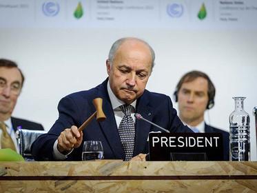 Momento histórico: aprovado o Acordo de Paris para as mudanças climáticas!
