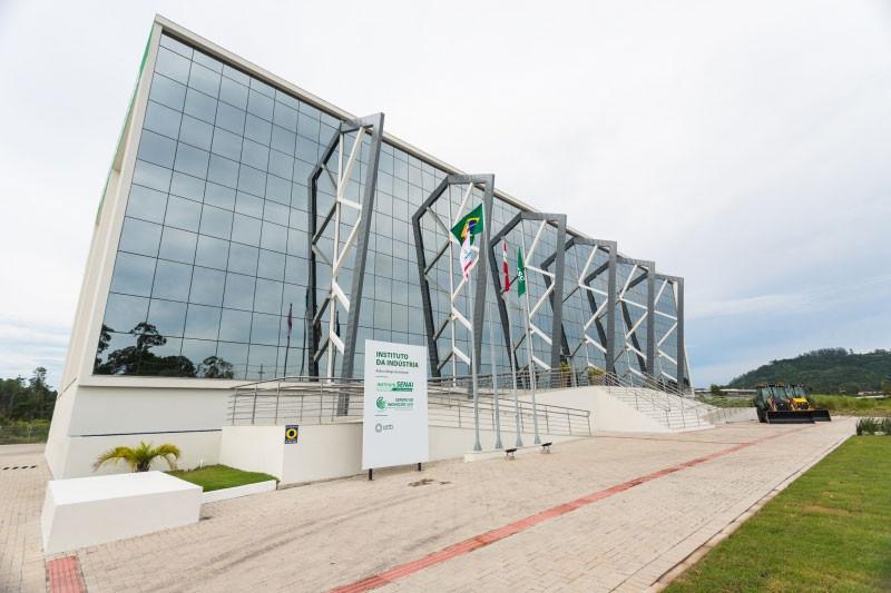 Instituto da Indústria em Florianópolis (foto: Marcos Campos)