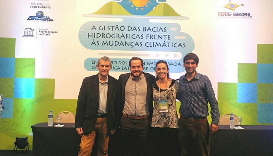 La Acción ECO CUENCAS participó del Encuentro de los Organismos de Cuenca - RELOC