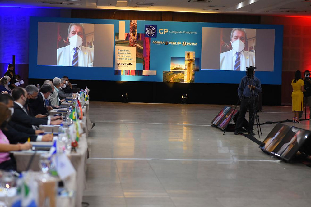 Deputado federal Gonzaga Patriota (PSB-PE), em participação virtual