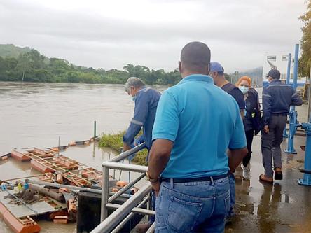 La turbiedad en el río Esmeraldas se mantiene en los niveles permitidos