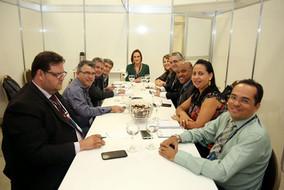 Reunião com a Presidente da ANA, Sra. Christianne Dias Ferreira